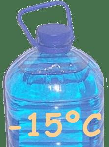 Температура -15°